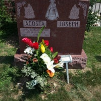 Photo taken at Mount St. Mary Cemetery by Pa P. on 8/11/2013