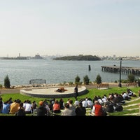 Photo taken at Barretto Point Park by NYC Parks on 10/17/2012