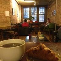 Photo taken at Dollop Coffee & Tea Co. by Jason P. on 11/16/2012