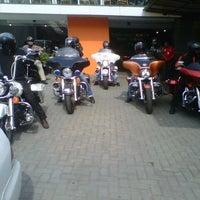 Photo taken at Mabua Harley-Davidson by wahyu d. on 3/29/2013