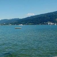 Photo taken at Strandbad Bregenz by Roger K. on 8/21/2015