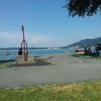 Photo taken at Strandbad Bregenz by Roger K. on 8/6/2013