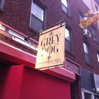 Photo taken at The Grey Dog by Aaron V. on 11/16/2012