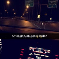Photo taken at Gaziantep-İskenderun Yolu by Ibrahim E. on 11/12/2016