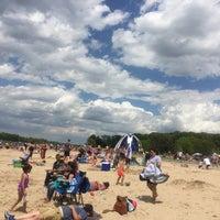 Photo taken at Eastwood Beach by Mia B. on 5/29/2017