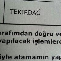 Photo taken at Sason İmam Hatip Ortaokulu by Nihan K. on 1/6/2015