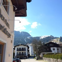 Photo taken at Pension Schmidinger by Cristiano G. on 3/28/2014