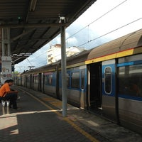 Photo taken at KTM Line - Rawang Station (KA10) by Darren D. on 1/25/2013