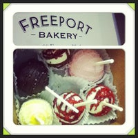 Photo taken at Freeport Bakery by Sheila B. on 4/30/2013