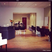 Photo taken at Adam James Hairdressing by James B. on 3/4/2014