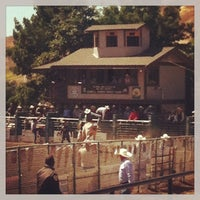 Photo taken at Rowell Ranch Rodeo Park by Cindi M. on 5/19/2013