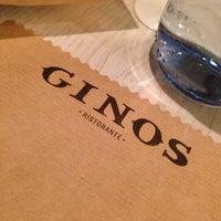 Photo taken at Ginos  Aragonia by Carlos M. on 2/27/2014