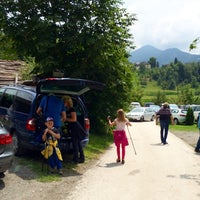 Photo taken at St. Georgen am Langsee by Lena B. on 7/27/2014