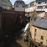 Photo taken at Saarburg by Dessertelfe on 5/14/2016