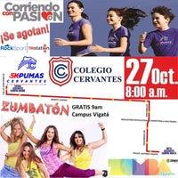 Photo taken at Colegio Cervantes Campus Vigatá by RockSport F. on 10/21/2013