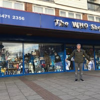 Photo taken at The Who Shop & Museum by Dante L. on 2/2/2016