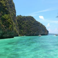 Photo taken at Phi Phi Islands by AYz R. on 3/25/2013