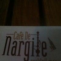 Photo taken at Cafè De Nargile by N.Ercan S. on 9/5/2013