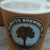 Photo taken at Palmetto Brewing Company by Tara S. on 7/15/2017