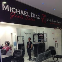 Photo taken at Michael Diaz Gents Salon by Michael D. on 3/4/2014