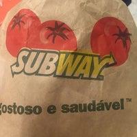 Photo taken at Subway by Ana Paula S. on 1/15/2016