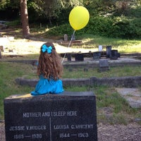 Photo taken at Evergreen Cemetery by Shamber on 6/22/2014
