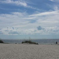 Photo taken at Fred howard beach by Krissy C. on 10/13/2014