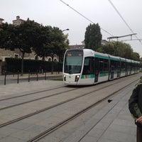 Photo taken at Station Cité Universitaire [T3a] by Rick L. on 9/29/2013