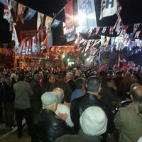 Photo taken at Halilbeyli Köy Meydanı by Eray K. on 3/20/2014