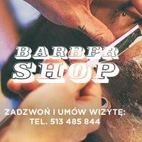 Photo taken at Barber Shop by Michał T. on 6/25/2014