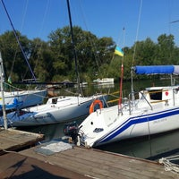Photo taken at Дніпропетровський міський крейсерський яхт-клуб by Natalie P. on 8/31/2014