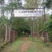 Photo taken at Campamento Santo Tomás by Carolina M. on 10/6/2014