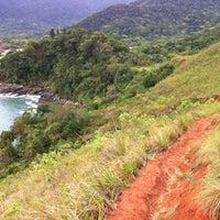 Photo taken at Trilha Pauba Maresias by Filipe X. on 10/14/2012