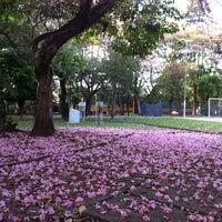 Photo taken at Praça Provincia De Saitama by Filipe X. on 10/28/2012