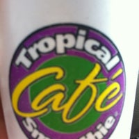 Photo taken at Tropical Smoothie Cafe by Kristen N. on 3/20/2013