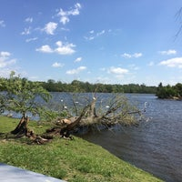 Photo taken at Ford Lake by Sevilay D. on 5/18/2017