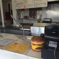 Photo taken at Bert's Burger Bowl by Kassandra P. on 3/14/2014