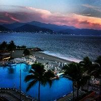 Photo taken at CasaMagna Marriott Puerto Vallarta Resort & Spa by Darcie B. on 5/2/2013