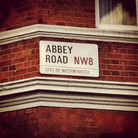 Photo taken at Abbey Road Studios by Darcie B. on 1/1/2013