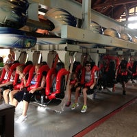 Photo taken at Alpengeist - Busch Gardens by CoasterFusion on 7/28/2013