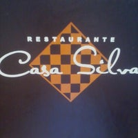 Photo taken at Restaurante Casa Silva by Diana S. on 1/30/2013