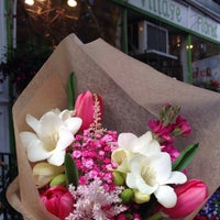 Photo taken at East Village Florist by Victoria A. on 5/4/2014