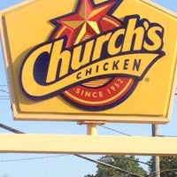 Photo taken at Church's Chicken by Pat E. on 9/23/2012