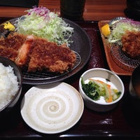 Photo taken at Tonkatsu Wako by satopyon_s on 2/13/2014