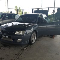 Photo taken at Pusat Cuci Kereta (Car Spa) - kmf® by Qaisara R. on 7/21/2013