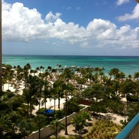 Photo taken at Marriott's Aruba Surf Club by Dan C. on 10/2/2012