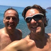 Photo taken at Spiaggia da Peppe by Giuseppe M. on 7/8/2017