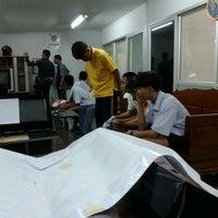Photo taken at Lardprao Police Station by Jan J. on 8/8/2014