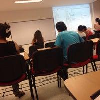 Photo taken at Facultad De Economia Y Administracion by Karent C. on 5/16/2014