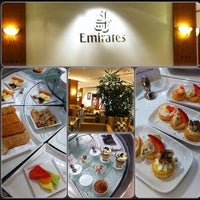 Photo taken at Emirates Business Lounge by Ms I. on 12/7/2012